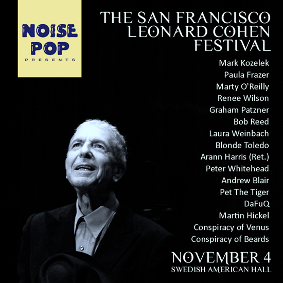 The San Francisco Leonard Cohen Festival