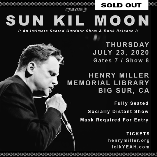Sun Kil Moon Big Sur Show 2020