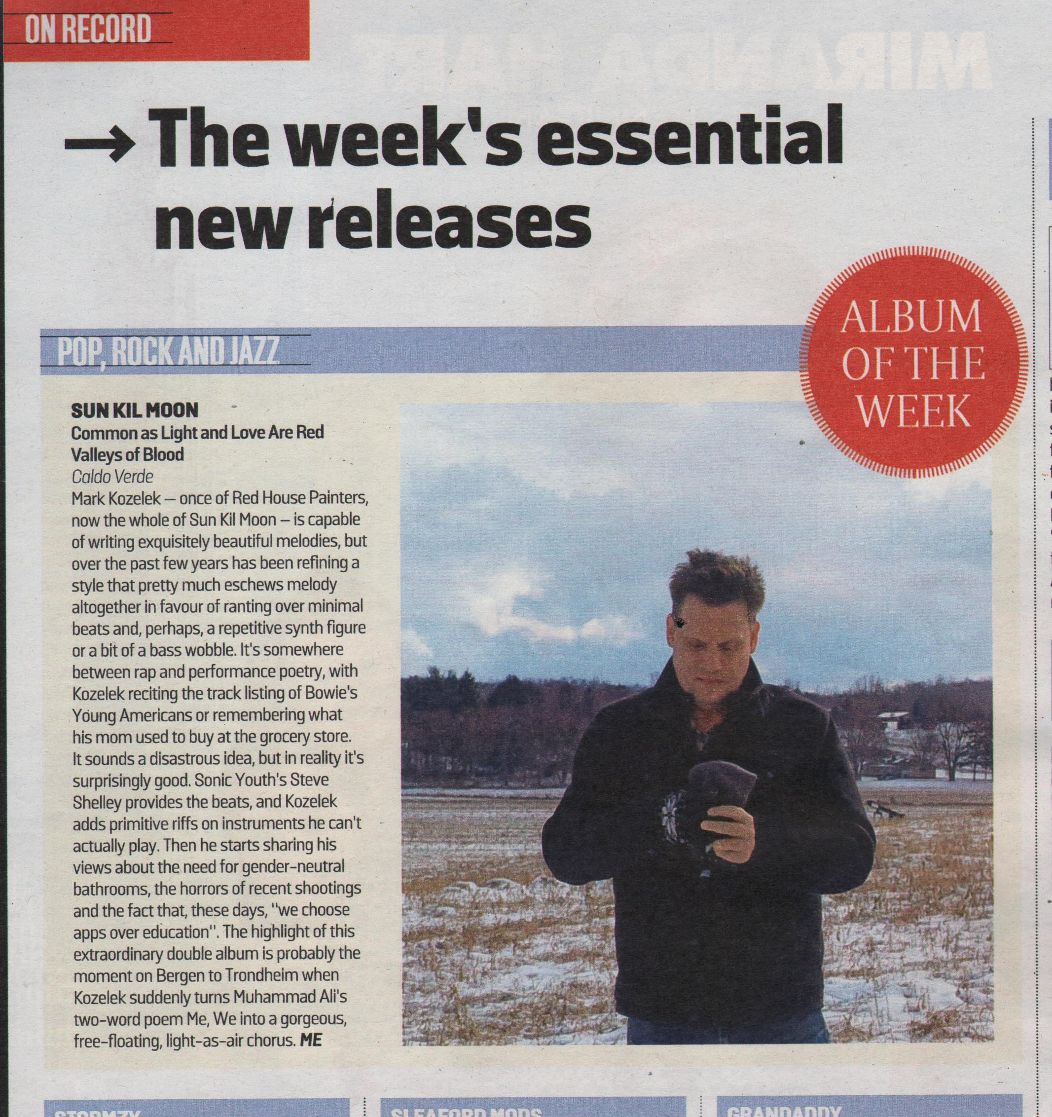 The Sunday Times Album of the Week
